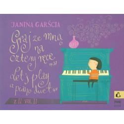 Graj ze mna na cztery rece zeszyt 2 Janina Garścia