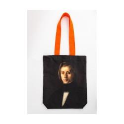 Torba bawełniana z portretem Fryderyka Chopina