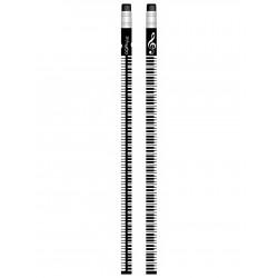 Ołówek czarny klawiatura