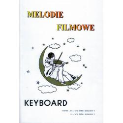 Melodie filmowe na keyboard, gitarę