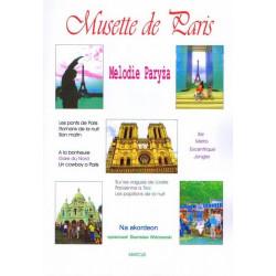Musette de Paris Melodie Paryża na akordeon