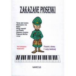 Zakazane piosenki na fortepian, keyboard