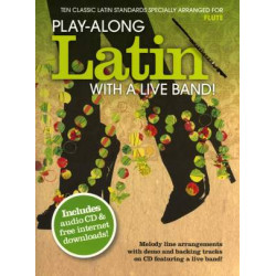 Play-Along Latin With A Live Band