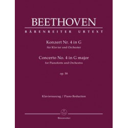 Beethoven, Ludwig van: Concerto for Pianoforte and Orchestra no. 4 in G major op. 58