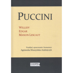 Puccini Willidy, Edgar, Manon Lescaut Geneza Libretto Przekład