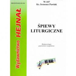 """Ks. Ireneusz Pawlak, """"Śpiewy liturgiczne"""""""