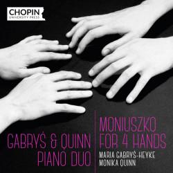 Moniuszko for 4 hands Gabryś & Quinn Piano Duo cd