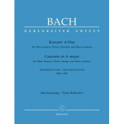 Bach, JS: Concerto for Oboe d'amore in A