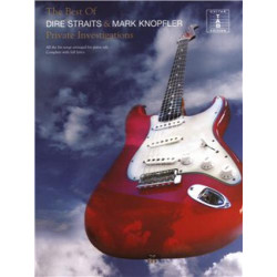 The best of Dire Straits & Mark Knopfler  Private Investigations  na gitarę