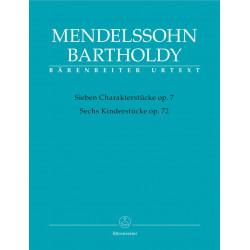 Mendelssohn, F: Piano Works