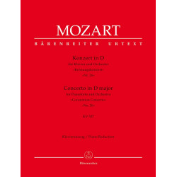 Mozart, Wolfgang Amadeus: Concerto for Pianoforte and Orchestra no. 26
