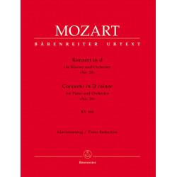 Mozart, WA: Concerto for Piano No.20 in D minor (K.466) (Urtext)