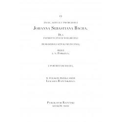 O życiu, sztuce i twórczości Johanna Sebastiana Bacha