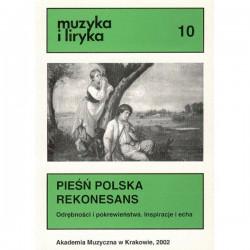 PIEŚŃ POLSKA REKONESANS