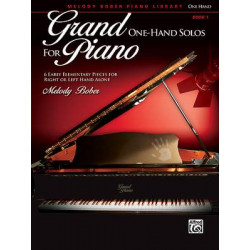 Melody Bober: Grand One-Hand Solos for Piano