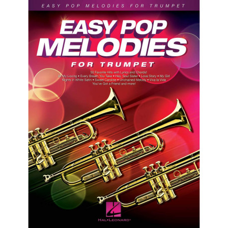 Easy Pop Melodies - for Trumpet