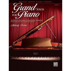Melody Bober: Grand Solos for Piano 1