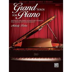 Melody Bober: Grand Solos for Piano 1
