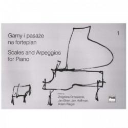 Gamy i pasaże na fortepian z.1  Z.Drzewiecki