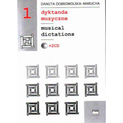 Dyktanda muzyczne 1 ( + 2cd) Danuta Dobrowolska - Marucha