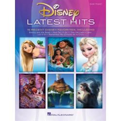 Disney Latest hits, easy piano