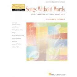 Christos Tsitsaros - Songs Without Words
