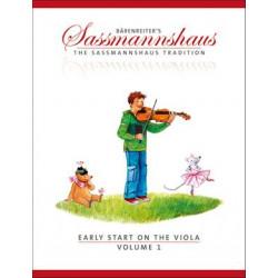 Sassmannshaus, E: Early Start on the Viola 1