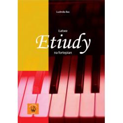 Łatwe etiudy na fortepian Ludmiła Bas