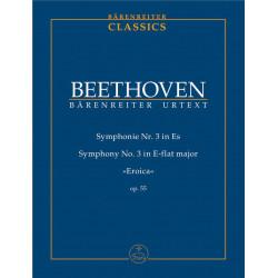 Beethoven, L van: Symphony No.3 in E-flat, Op.55 (Eroica) (Urtext)