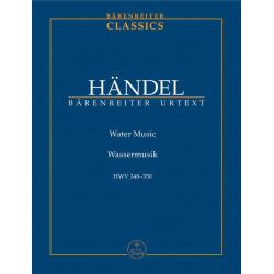 Handel, GF: Water Music (HWV 348-350) (Urtext)