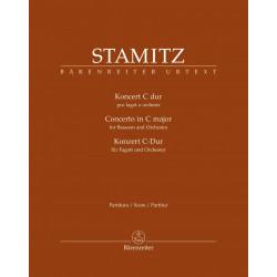 Stamitz, Carl: NEW ISSUE Bassoon Concerto Full Score