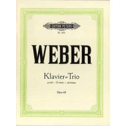 Weber, C: Trio in G minor Op.63