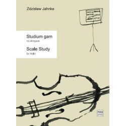 Zdzisław Jahnke  Studium gam na skrzypce solo