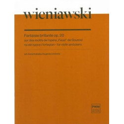 Fantaisie brillante op. 20 na skrzypce i fortepian H. Wieniawski