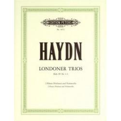 Haydn: 3 London Trios Hob.IV/1-3