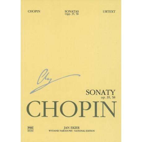Chopin Sonaty op. 35, 58 WN na fortepian
