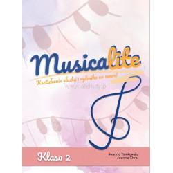 Musicalite klasa 2 - Kształcenie słuchu i rytmika na nowo - Joanna Tomkowska, Joanna Chroł