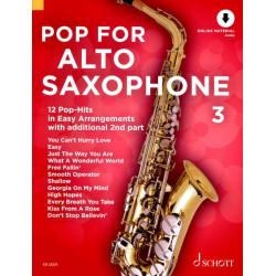 Pop for alto saxophone 3