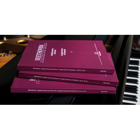 Complete Sonatas for Pianoforte. Beethoven