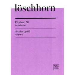 Etiudy op.66 na fortepian Carl Albert Loschhorn