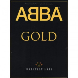 ABBA Gold  Greates Hits arranged for voice piano & guitar