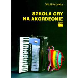 Szkoła gry na akordeonie. Witold Kulpowicz