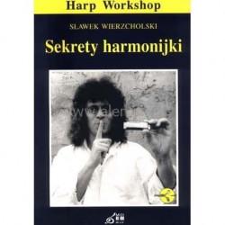Sekrety harmonijki. Sławek Wierzcholski. +CD