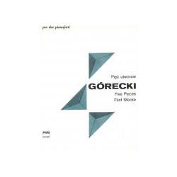 Pięć utworów. Henryk Mikołaj Górecki