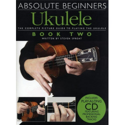 Absolute Beginners: Ukulele 2 -  the complete picture guide to playing the ukulele ( + płyta CD)(+ płyta CD)