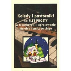 Kolędy i pastorałki na flet prosty Marcin Lemiszewski