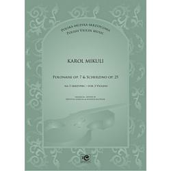 Polonaise & Scherzino. Karol Mikuli