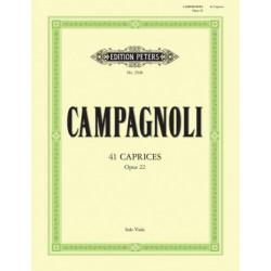 41 Caprices. Campagnoli