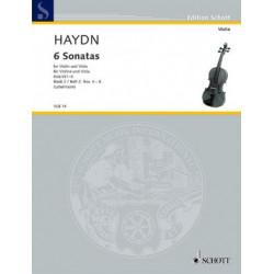 6 Sonatas 2. Haydn